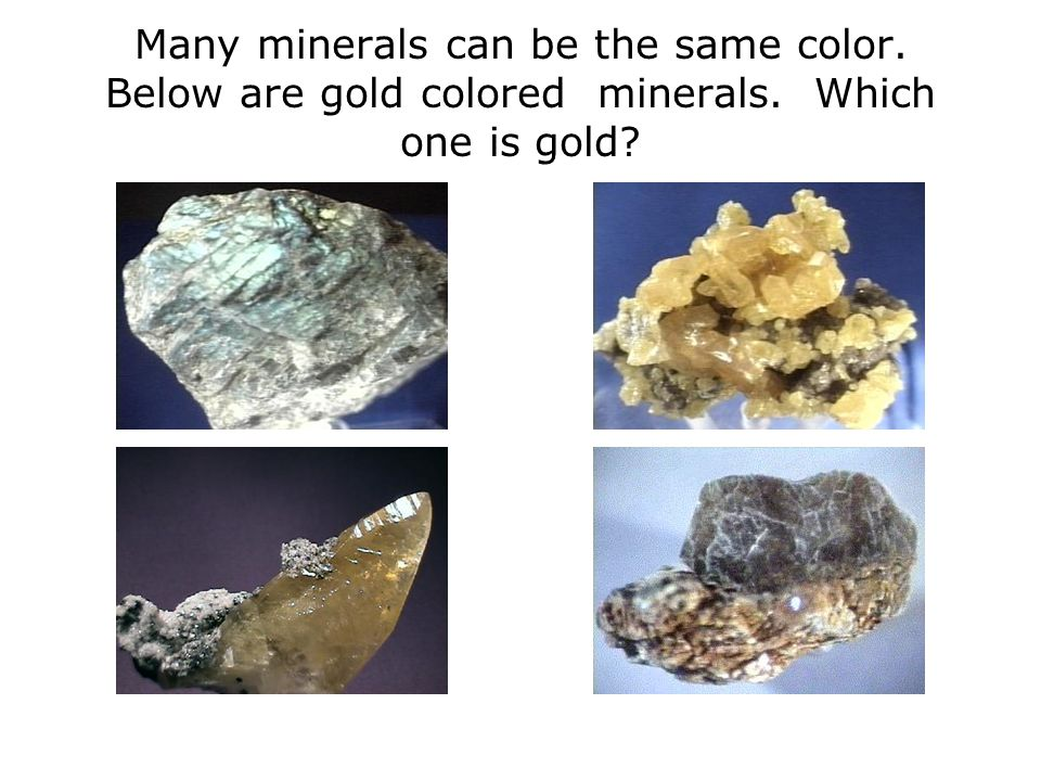Minerals Non silicates: Sulphides The mineral pyrite is the only sulphide that occurs commonly in rocks.