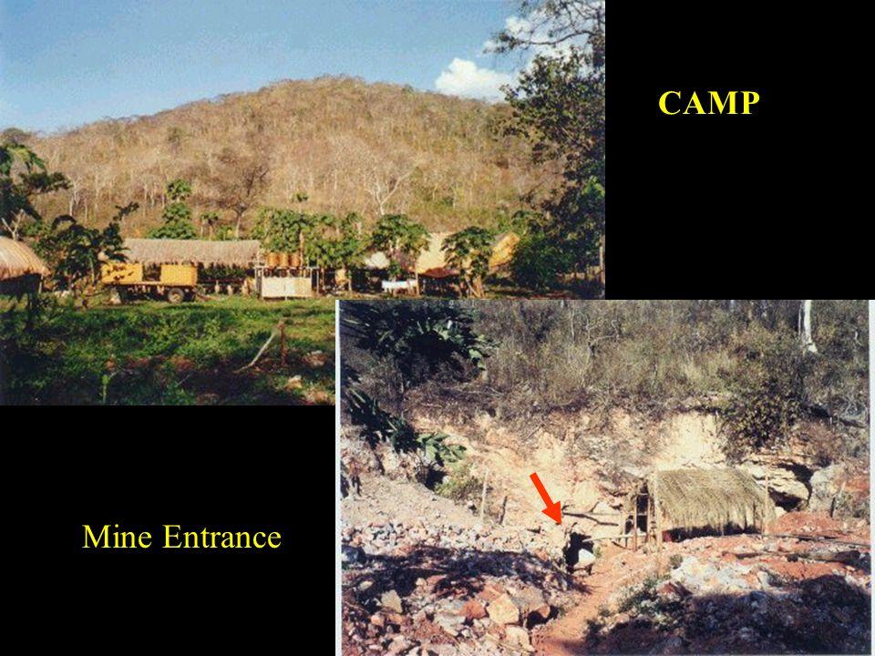 CAMP Mine Entrance