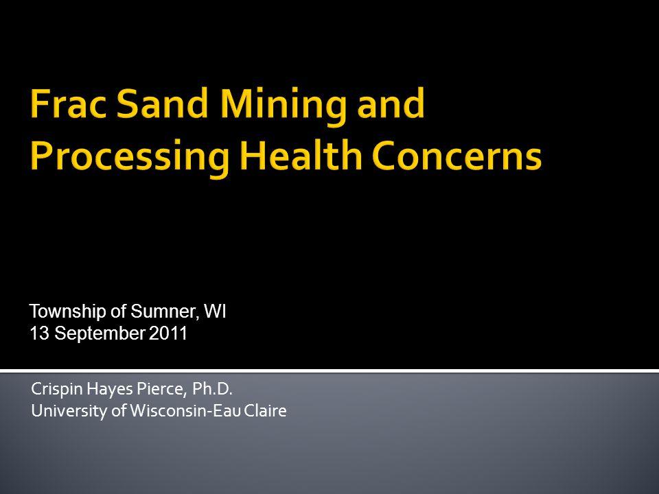 Crispin Hayes Pierce, Ph.D.