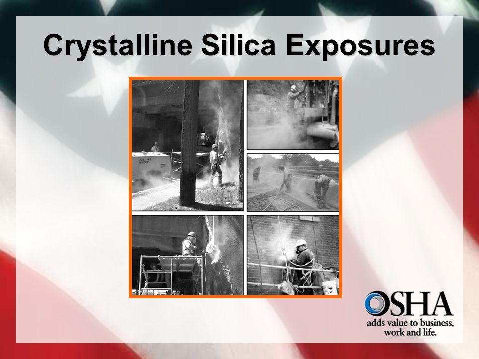 Crystalline Silica Exposures