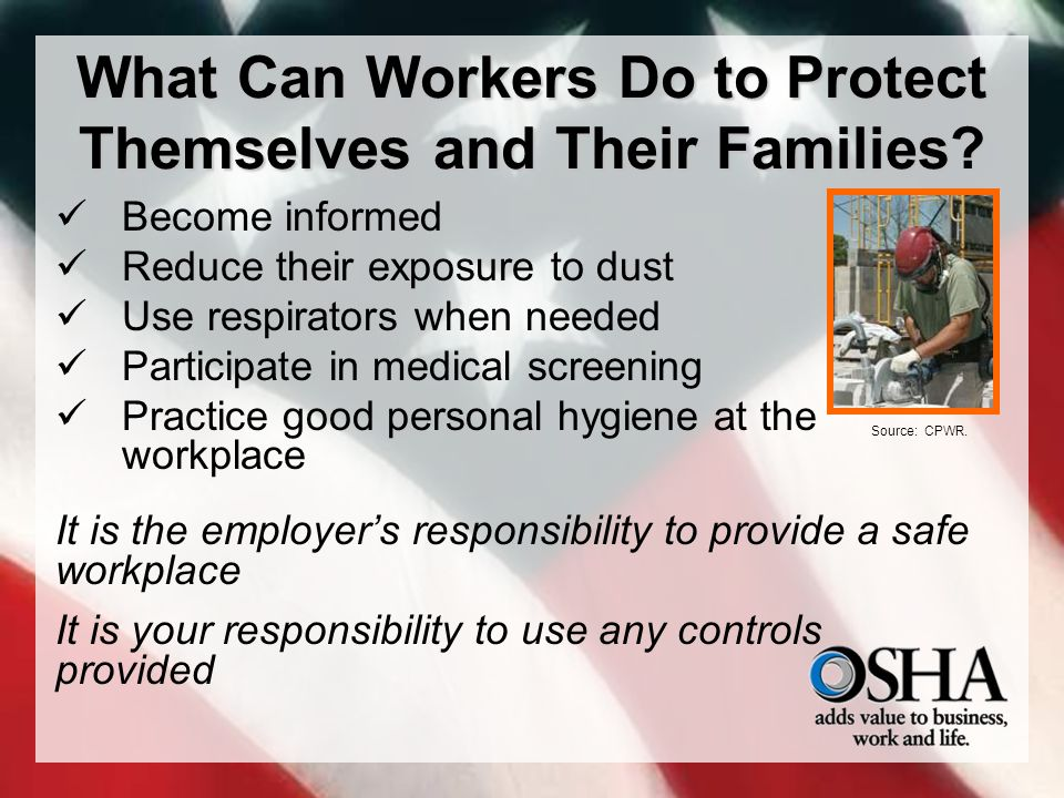 What Can Workers Do to Protect Themselves and Their Families.