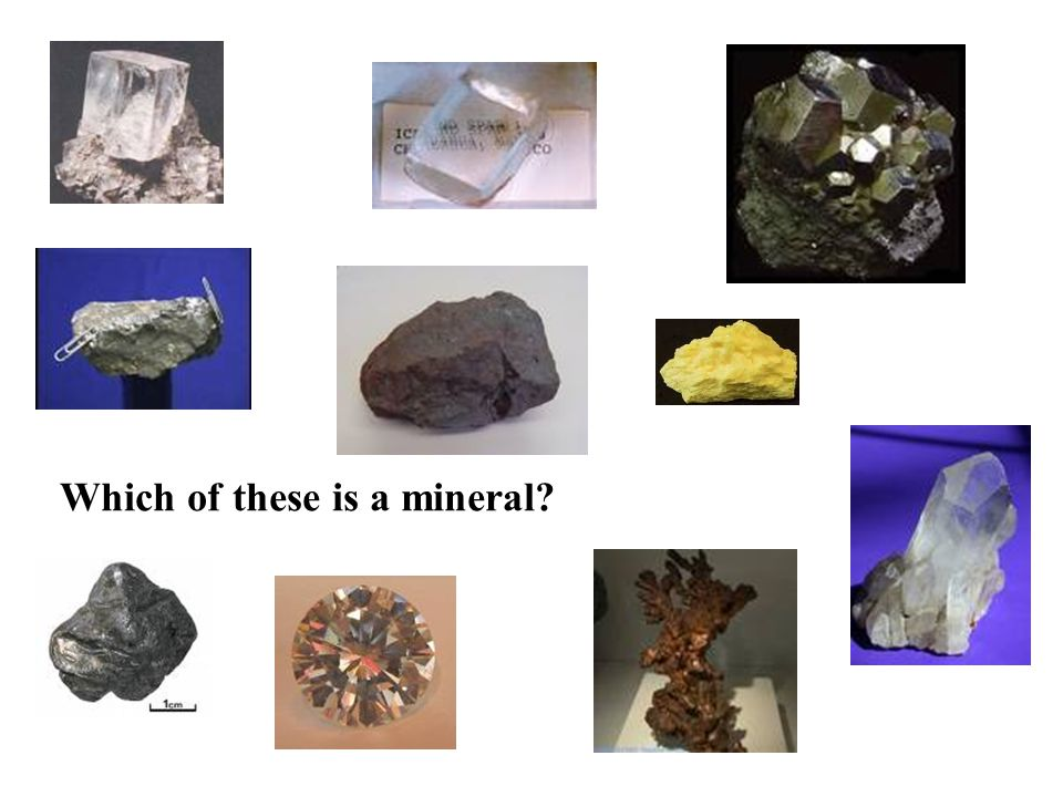 Which of these is a mineral