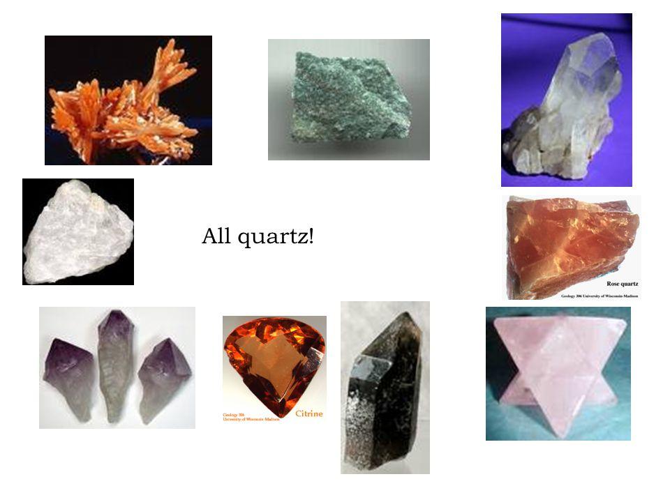 All quartz!
