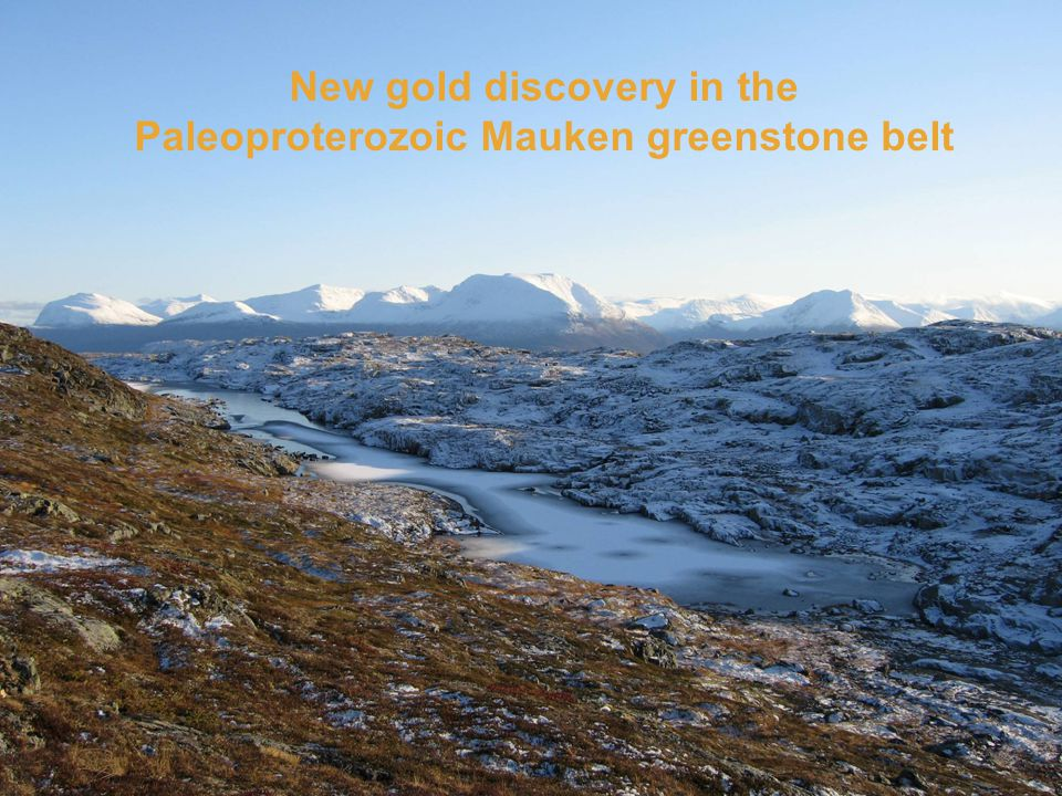 New gold discovery in the Paleoproterozoic Mauken greenstone belt