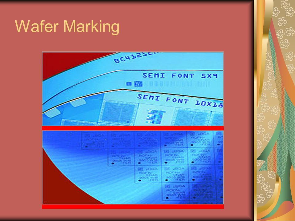 Wafer Marking