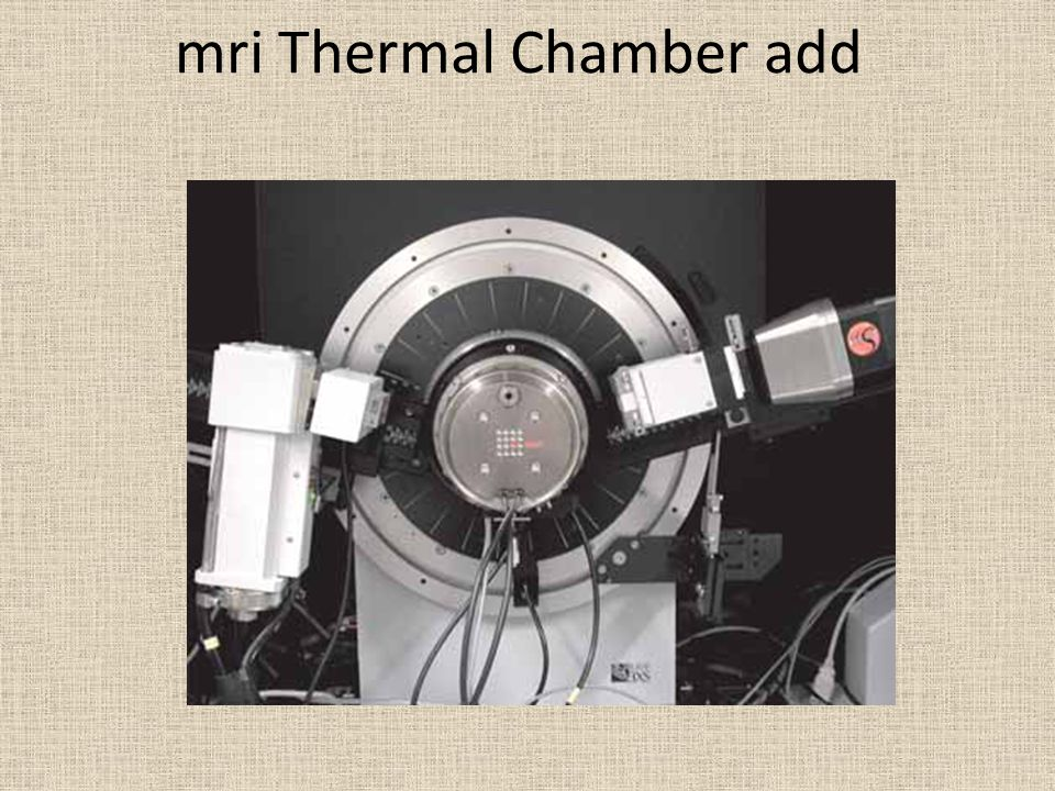 mri Thermal Chamber add