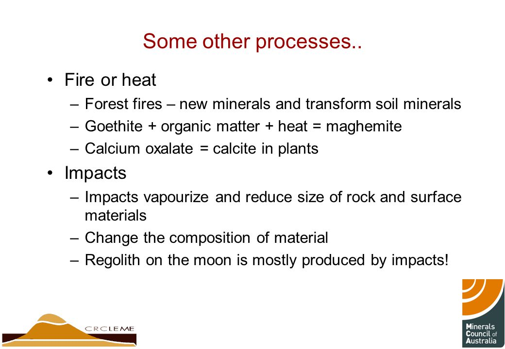 Some other processes..