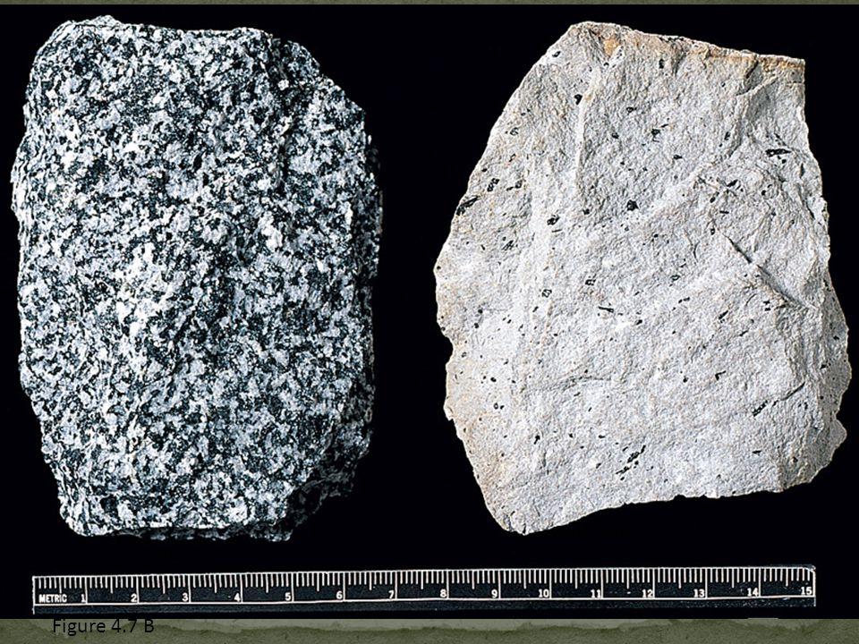 Diorite Andesite Figure 4.7 B