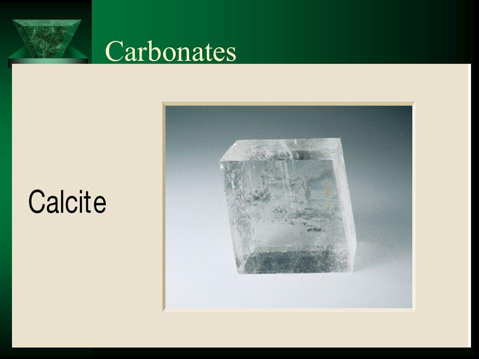 Examples of Silicates Plagioclase Feldspar