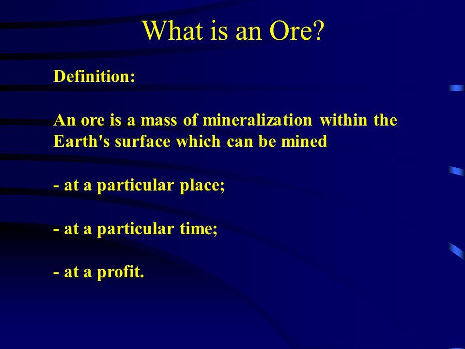 Nickel Ores Ore Types: Massive:pentlandite and chalcopyrite in relatively equal quantities in massive pyrrhotite.