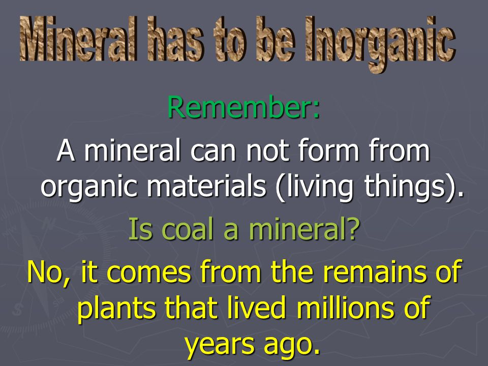 Are man made materials like Plastic, brick, glass, and steel can be called minerals?