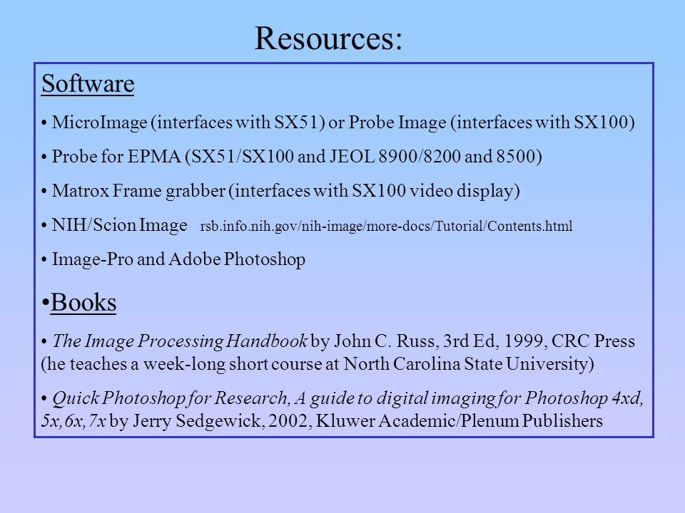 Optical scanning (Nikon slide scanner) Use the Nikon slide scanner to scan your entire section for: 1.