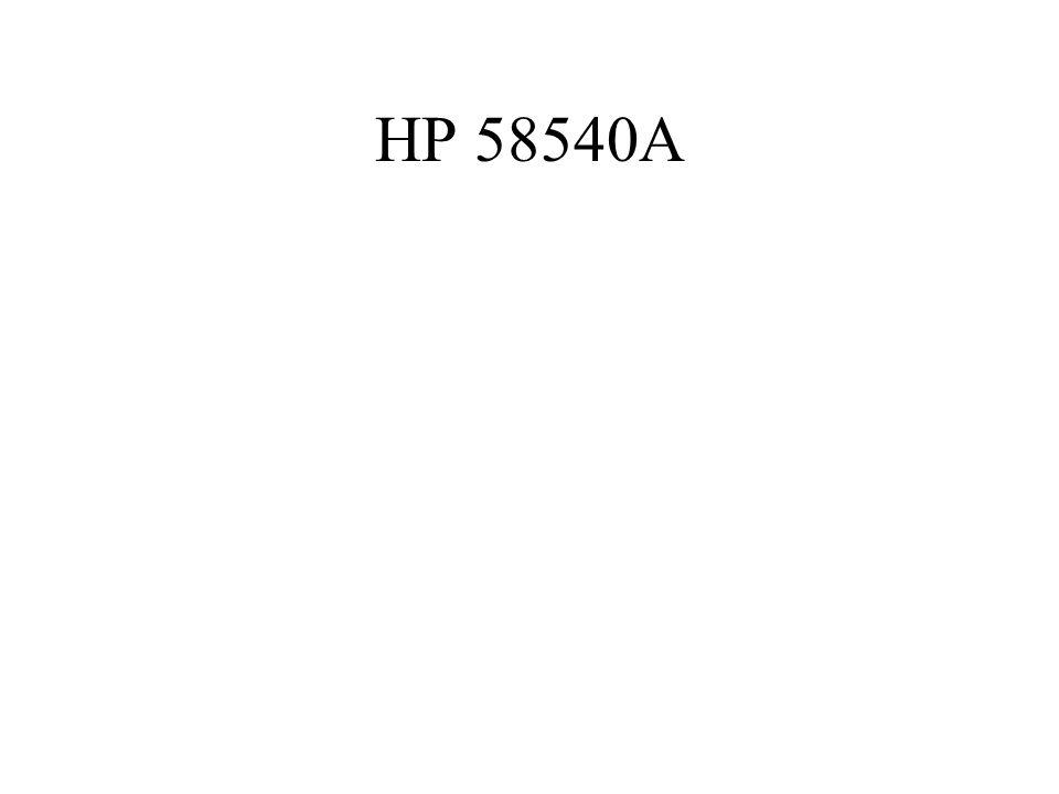 HP 58540A