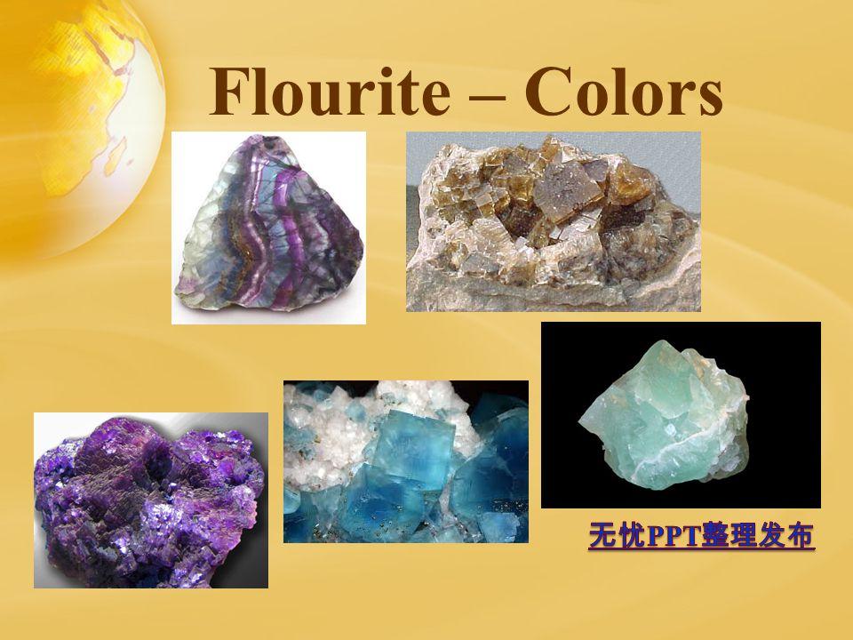 Flourite – Colors