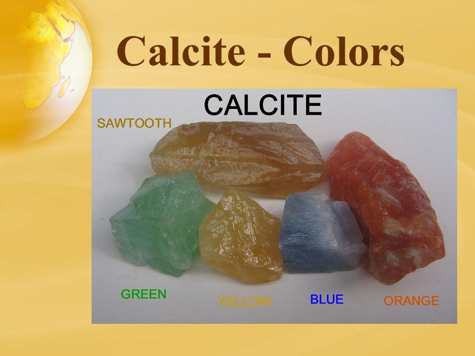 Calcite - Colors