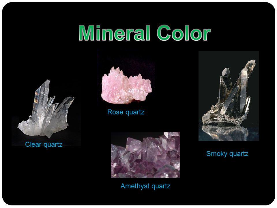 Smoky quartz Amethyst quartz Rose quartz Clear quartz