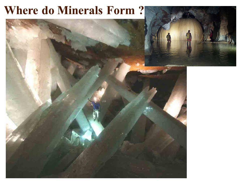 Where do Minerals Form ?