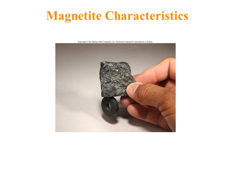 Magnetite Characteristics