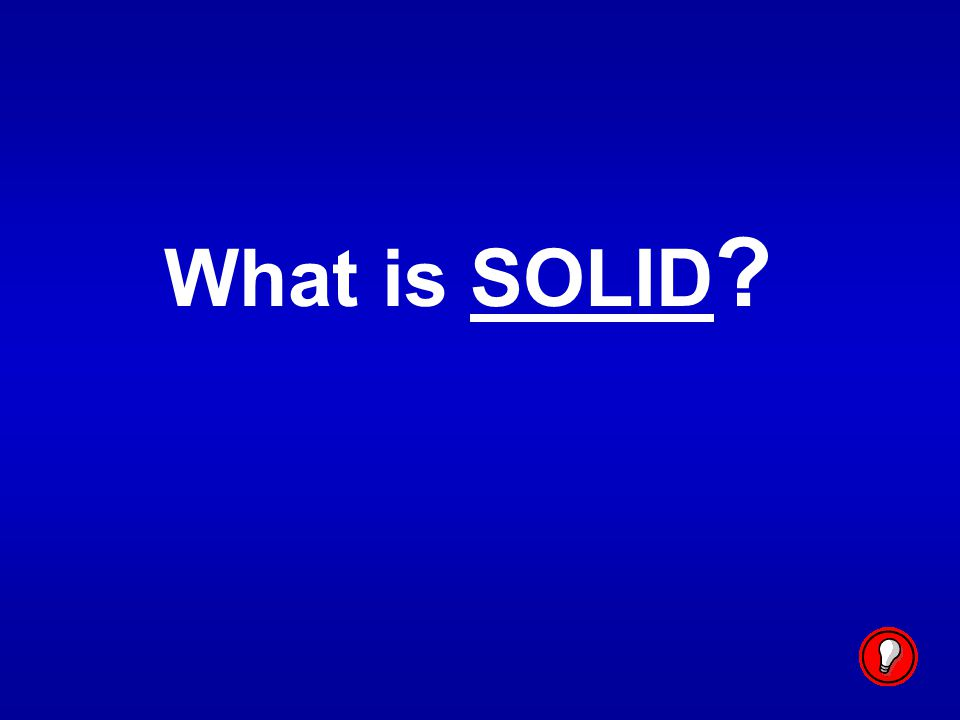 What is SOLID