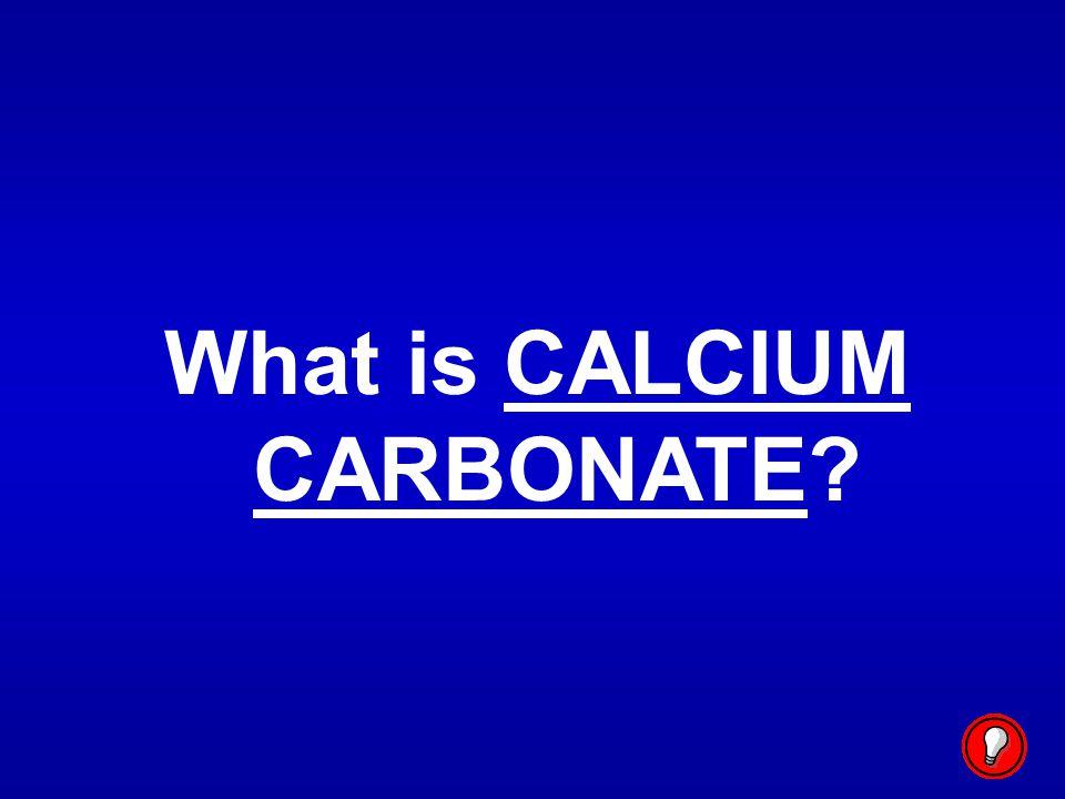 What is CALCIUM CARBONATE