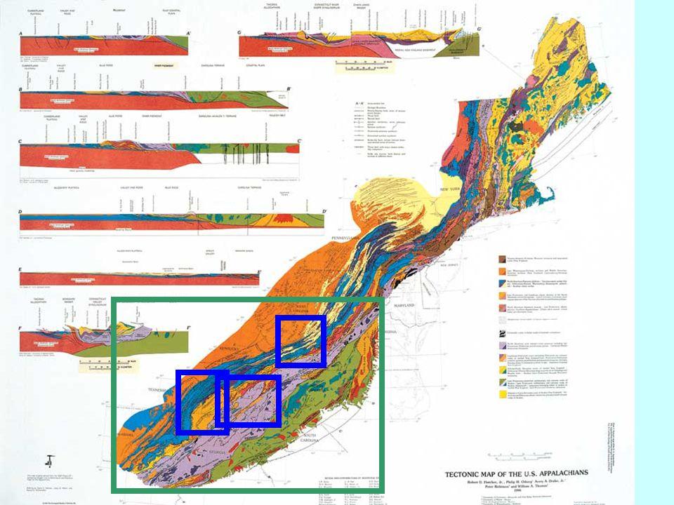 Newark Basin, NJ Mesozoic Basins Sandstone aquifers Shale confining units Redbeds in the Hartford Basin, Conn Conglomerate Basalt Arkose