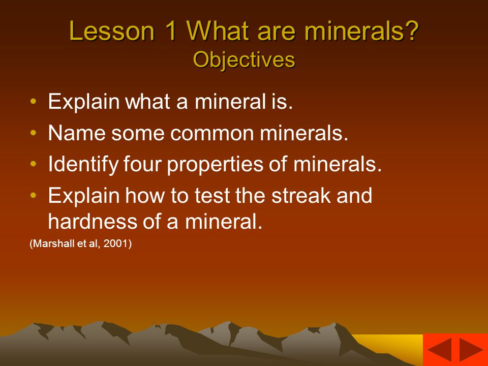CHAPTER 10 Minerals and Rocks By Jamie Desrochers