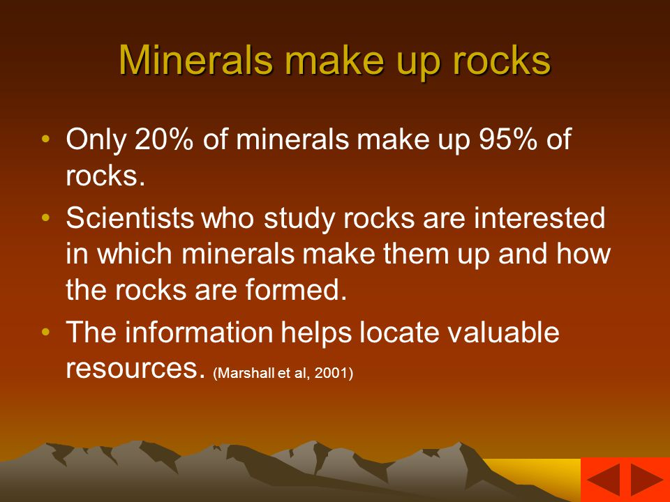 Definition (Please enter into your notebook) Rock -Natural solid material made of one or more minerals.
