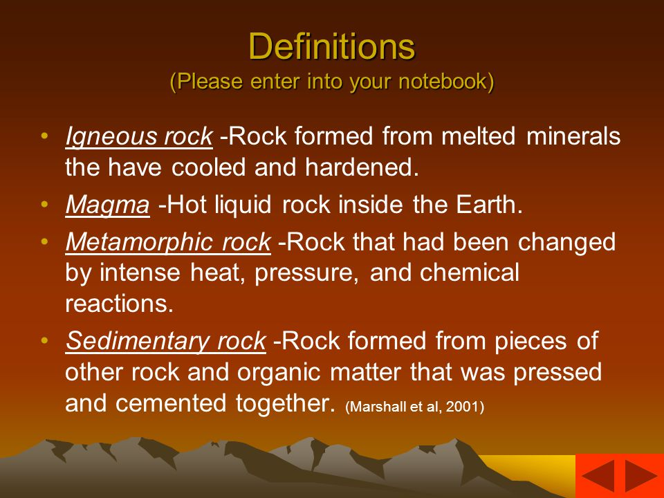 Minerals make up rocks Only 20% of minerals make up 95% of rocks.