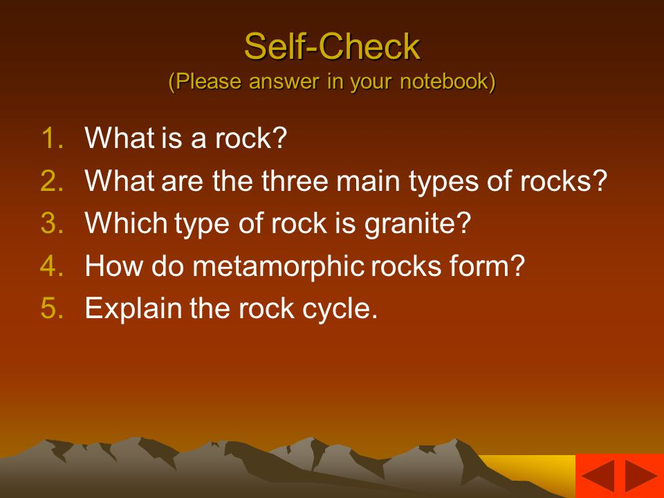 The Rock Cycle Magma rises, cools, and hardens into igneous rock.