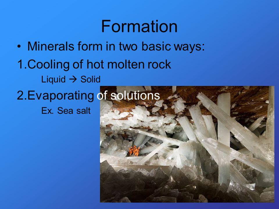 Mineral Copper Naturally occurring solid Inorganic Definite shape Definite chemical composition Cu