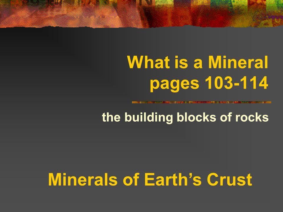 Ferromagnesian mineral Contain iron and magnesium