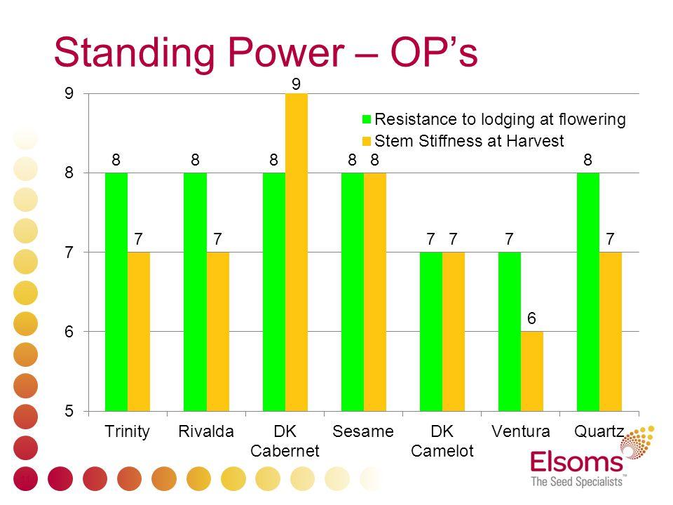 Standing Power – OP's 11
