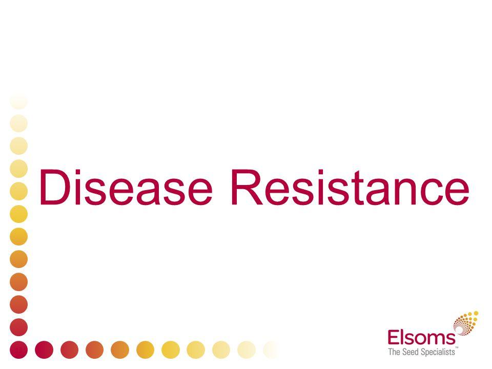 13 Disease Resistance