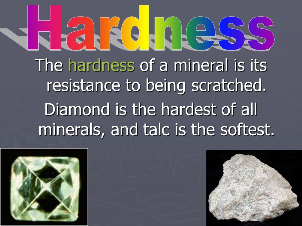 Discuss the following. There are four common minerals, how many can you name.