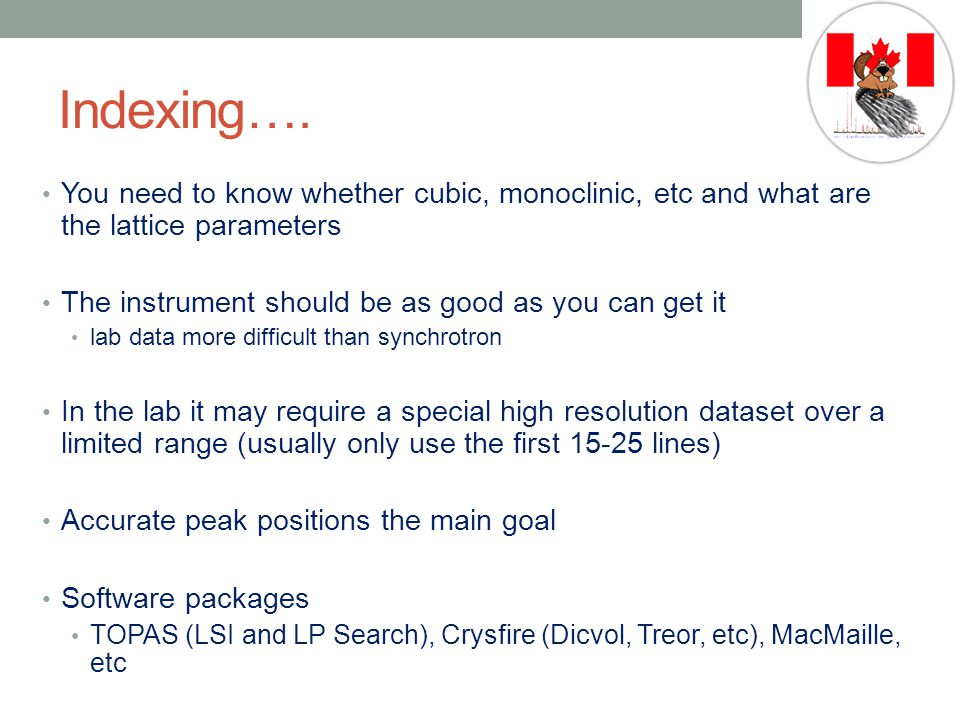 Indexing….