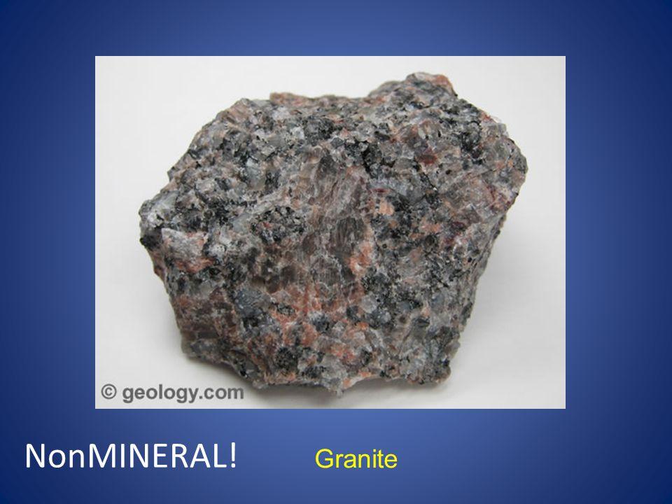 Granite NonMINERAL!