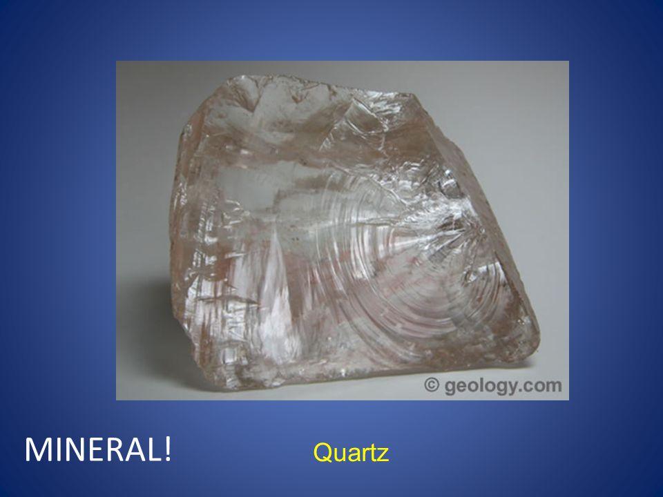 Quartz MINERAL!