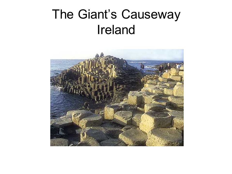 The Giant's Causeway Ireland