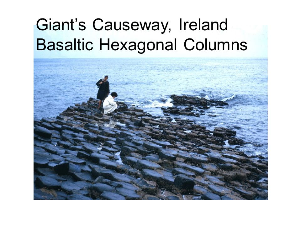Giant's Causeway, Ireland Basaltic Hexagonal Columns