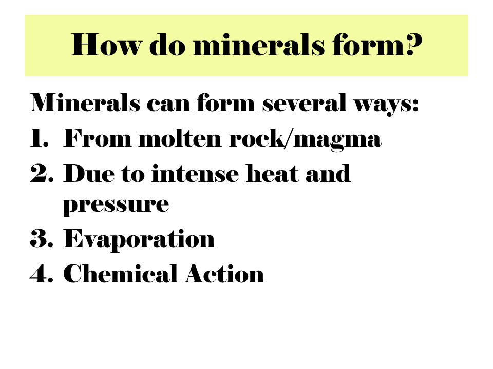 Hardness A good physical property in mineral identification Measure of the strength of the structure of the mineral relative to the strength of its chemical bonds --- Stronger bonds = greater hardness Hardness can be tested through scratching A mineral can only be scratched by a harder substance