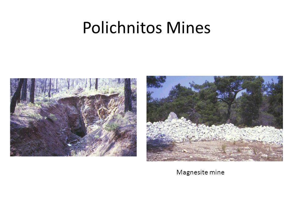 Polichnitos Mines Magnesite mine
