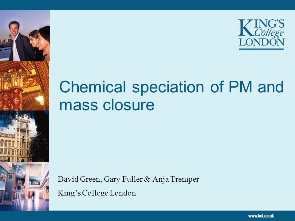 22 Relationship between annual mean PM10 and NOX in London Fuller et al., (2002), Fuller and Green (2006)
