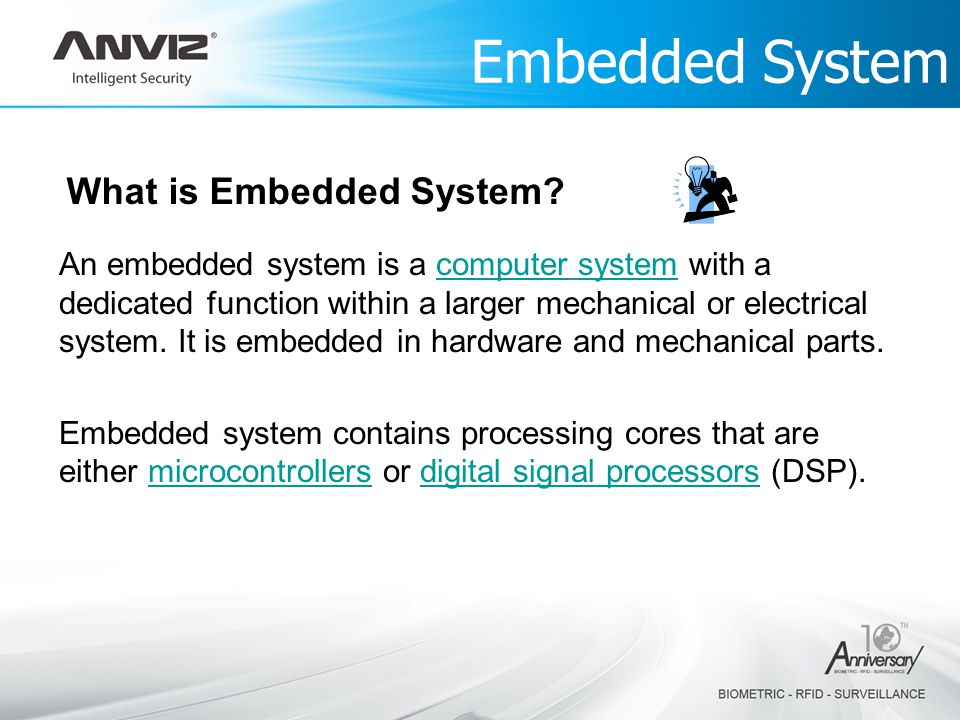 Embedded System What is Embedded System.