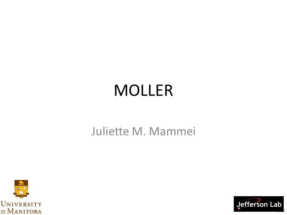 1/22 MOLLER Juliette M. Mammei