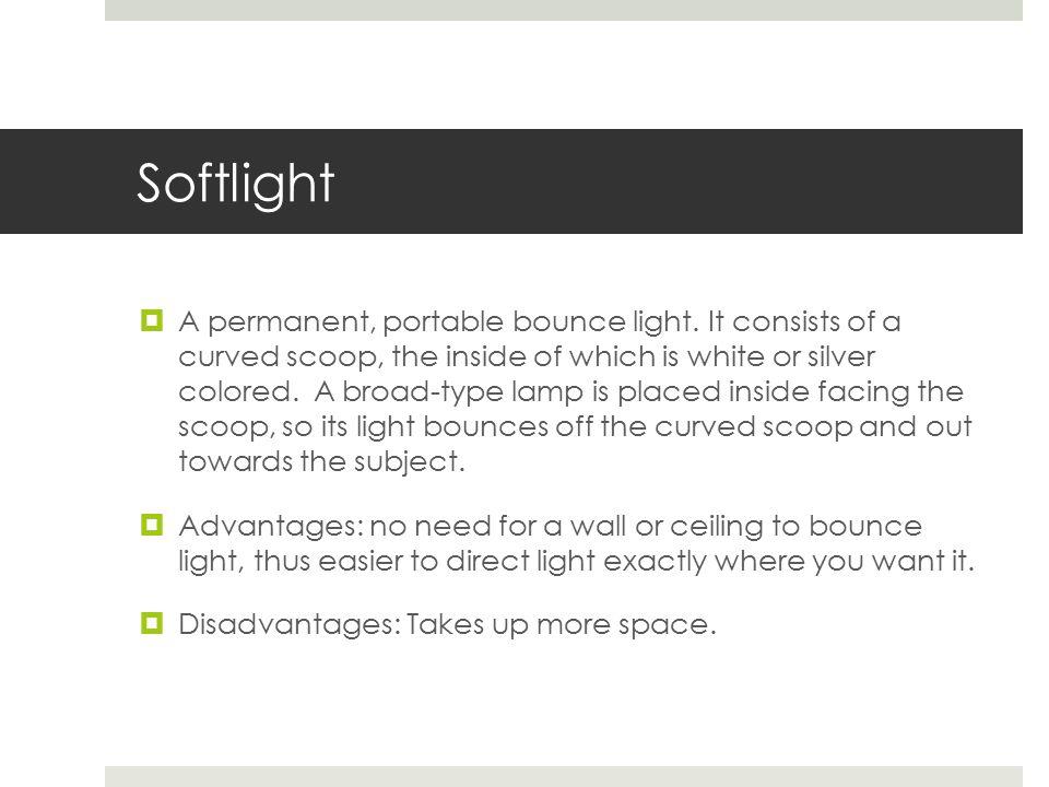 Softlights / Softbox