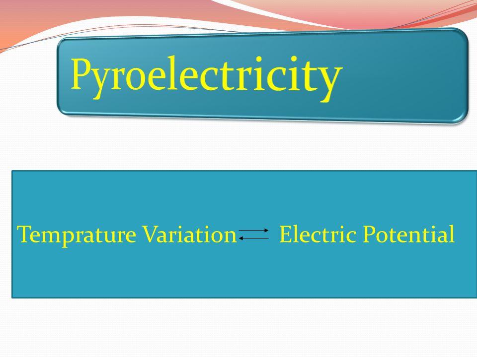 Temprature Variation Electric Potential