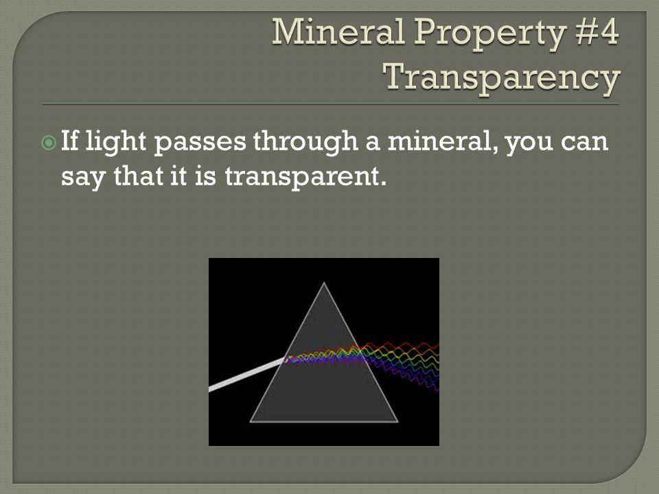 AA mineral's luster is the way in which light reflects from the surface.