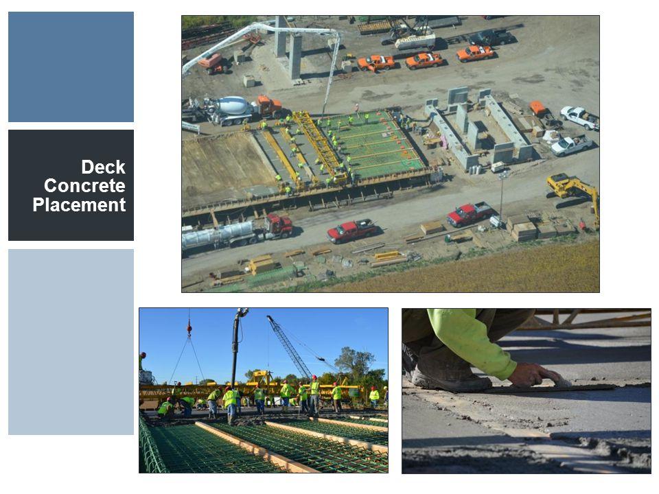 Deck Concrete Placement