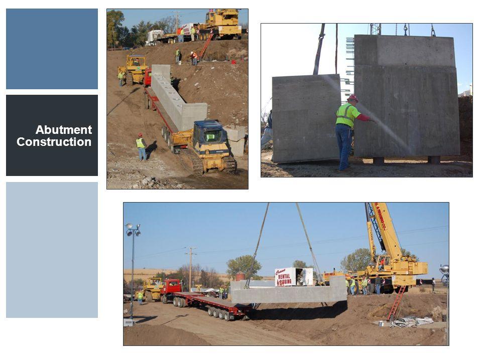 Abutment Construction