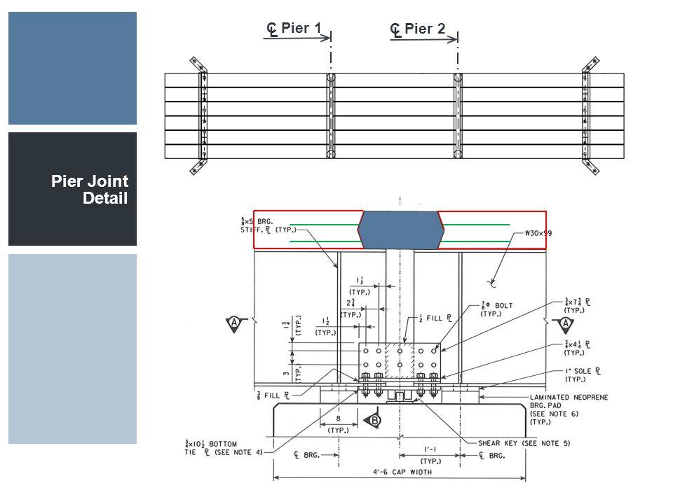 Pier Joint Detail C Pier 1 L C Pier 2 L